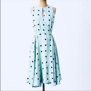 Maple  Across the Land polka dot dress sz4